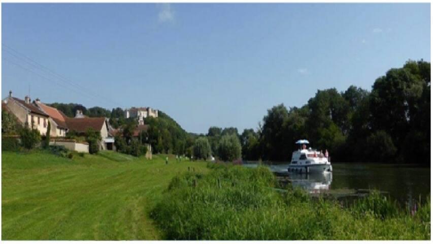 Vacances en bord de Saône