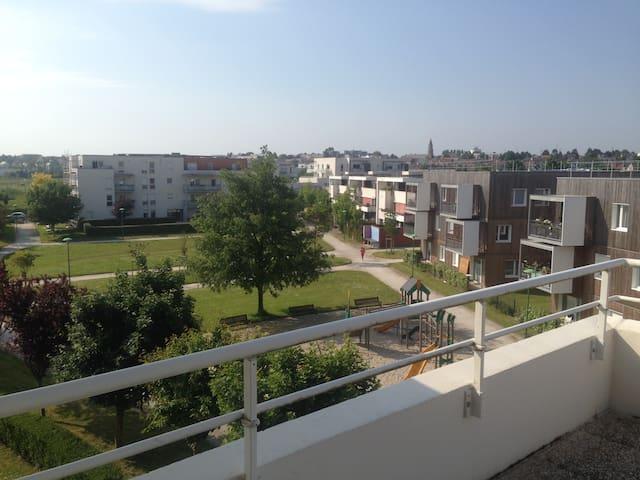 Appartement F2 quartier beaulieu à Caen