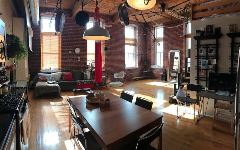 Cozy World Zen Loft - Philadelphia - Loft