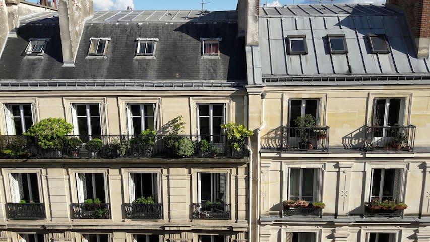 Appartement au coeur de paris - París - Departamento