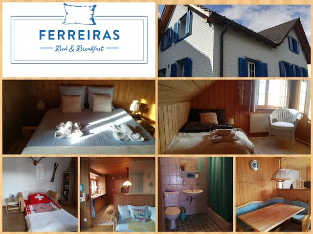 Ferreiras B&B, Gäste Suite (self Check-in poss.)