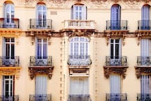 magnifique immeuble nicois