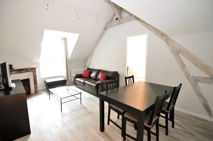 Appartement de charme avec tennis privé - Louveciennes - Apartamento