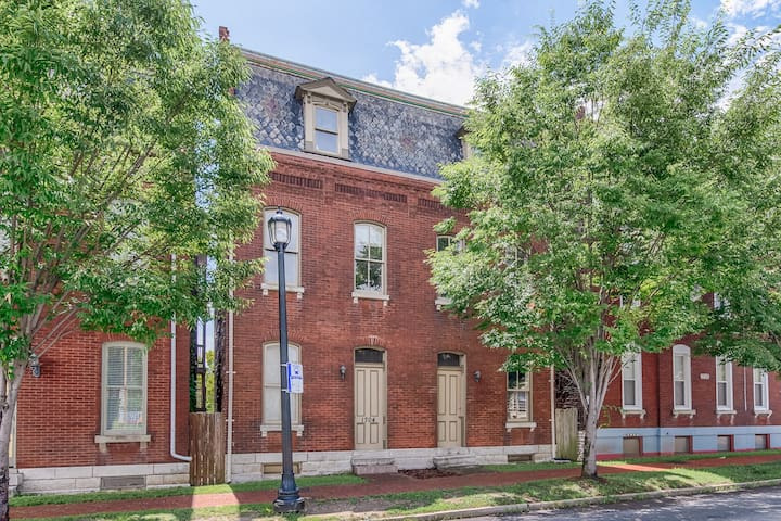 Awesome apartment 3 blocks from Soulard Market