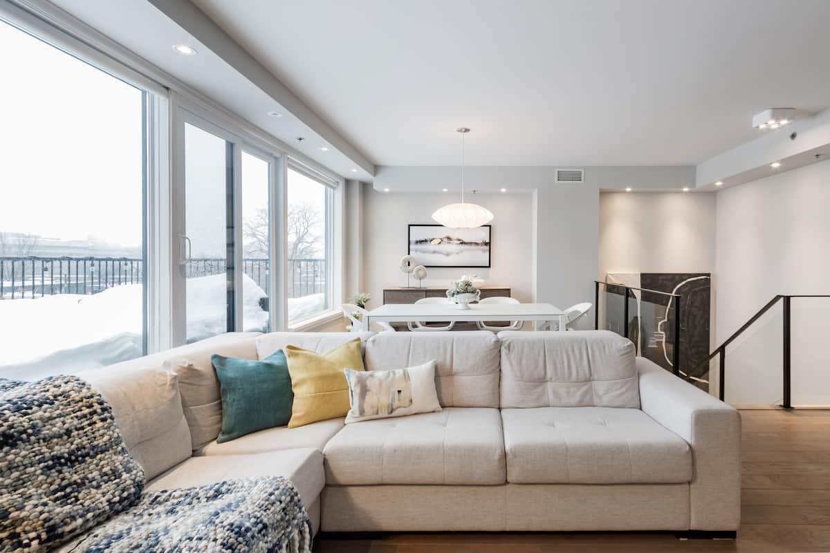 Stunning Designer Penthouse on Two Floors