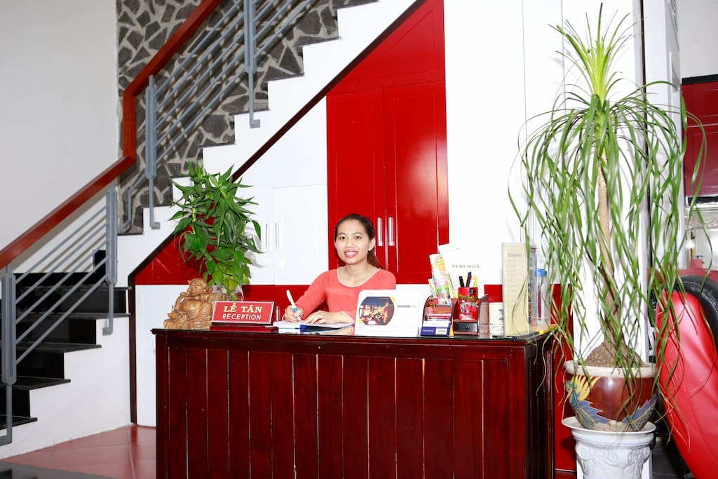 Old Well receptionist