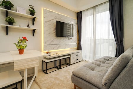 New and cozy 2BR apt @ Taman Anggrek Residences