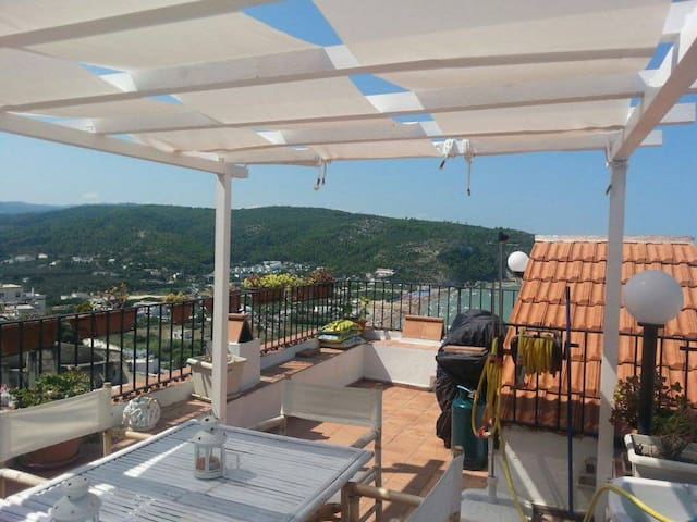 Appartamento centro storico vista mare - Peschici - Appartement