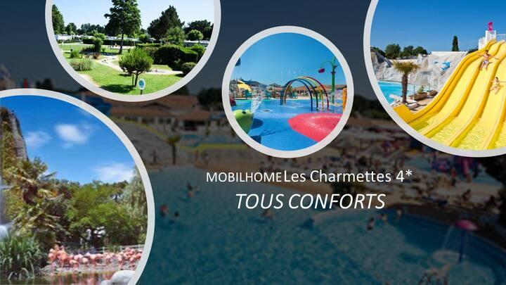 MOBILHOME Les Charmettes 4* Tout Confort