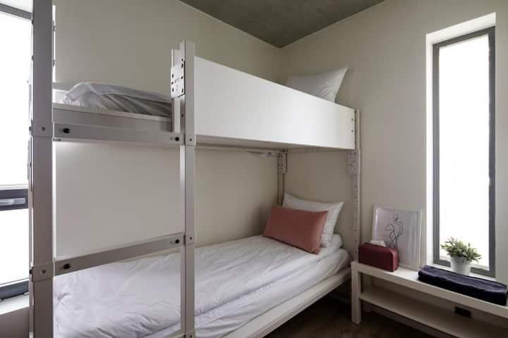 *New built - 2people  small bunkbed room, hongdae