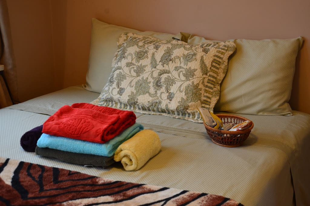 Set of soft towels