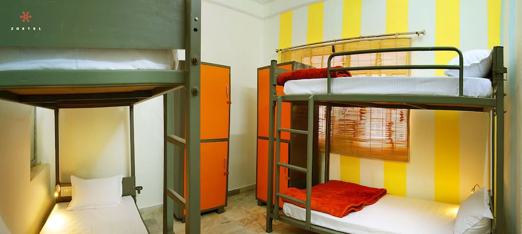 A Bed in 4 Bed Female Dorm in Pushkar