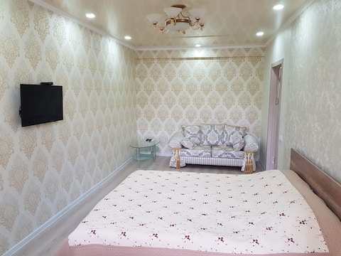 One-room apartment in the center of Bishkek.