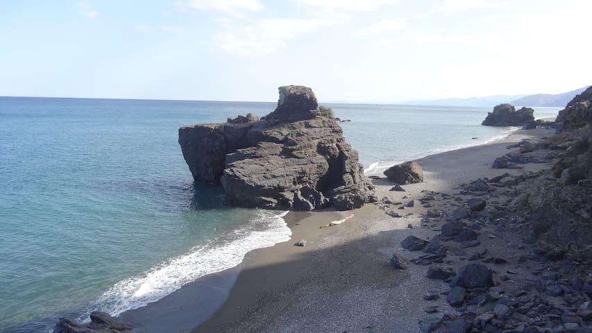 Maison romantique à 50m de la plage Méditerranée - Stehat - Квартира
