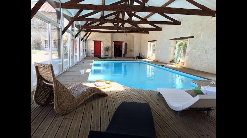 Chambre privée + petit déjeuner - Pérignac - Apartament