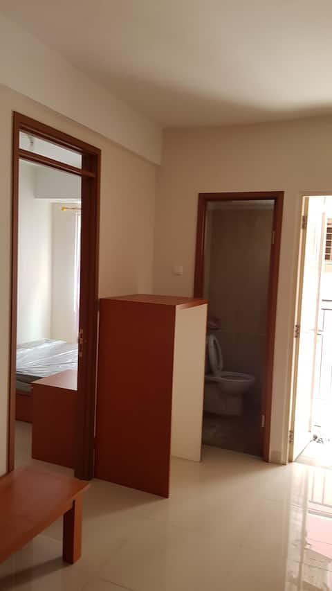 Cozy apartment near Airport and PIK west jakarta
