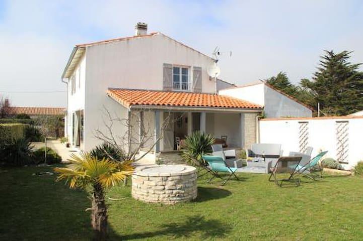 Maison familiale cosy proche de la plage - Saint-Clément-des-Baleines - Haus