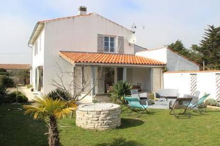 Maison familiale cosy proche de la plage - Saint-Clément-des-Baleines - Dům