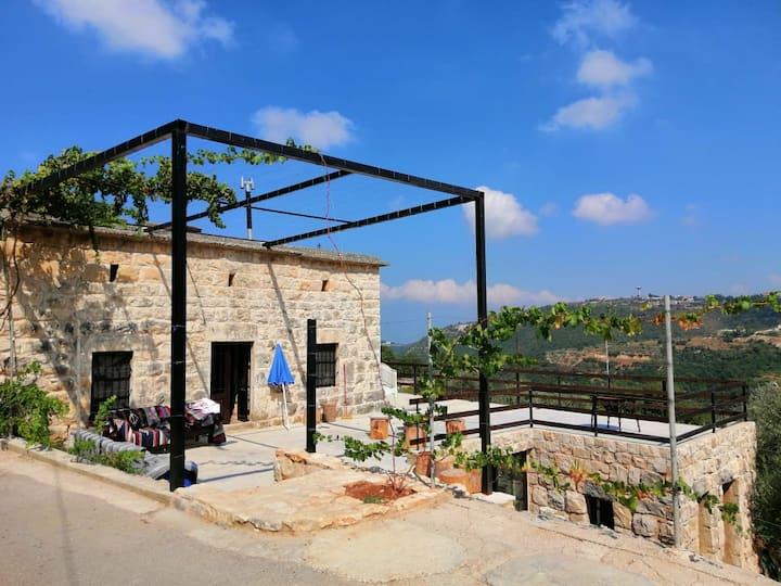 Beit el deif ground floor ainkfaa jbeil Mont-Liban