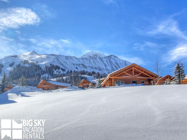 Stunning Top Of The World Views. Hike Or Ski At Big Sky Out Your Front Door! (CH 15 Derringer)