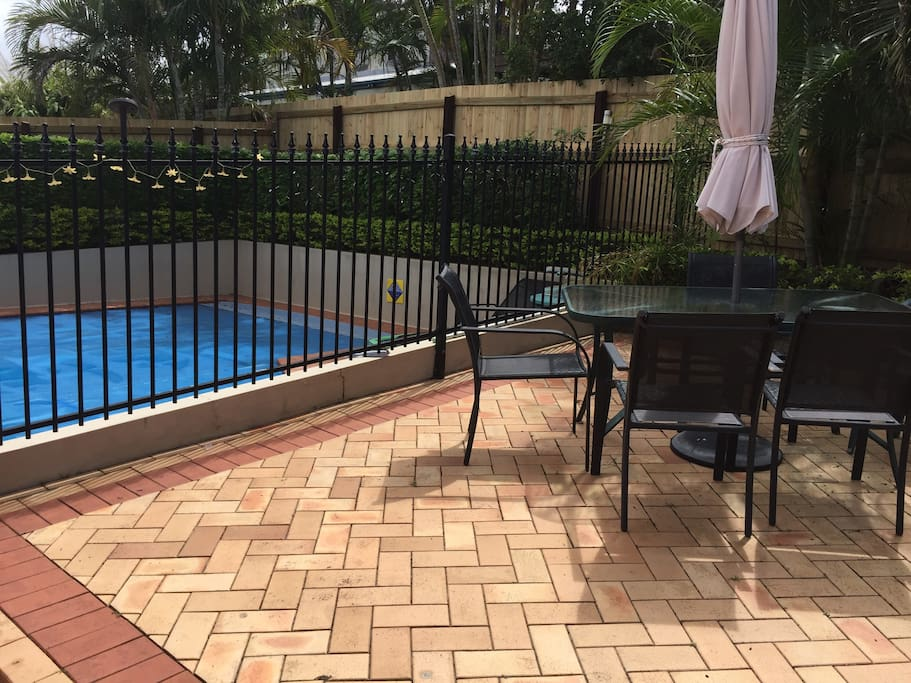 Pool and outdoor setting for your use