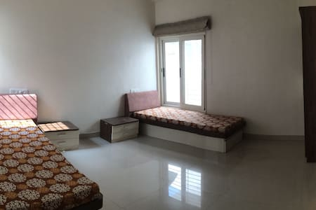 private bedroom lavish flat alkapuri vadodara