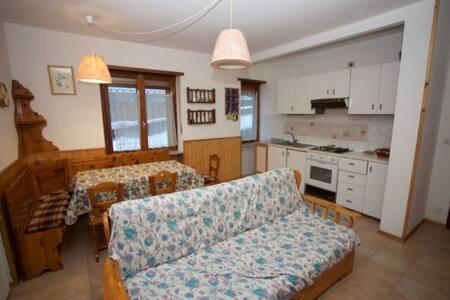Appartamento in tipica borgata alp ina
