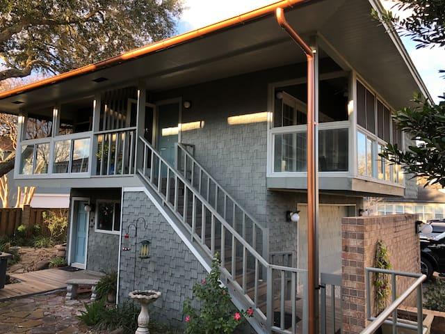 Galveston Bay View Guesthouse - near Kemah & NASA