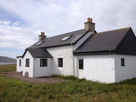East Biggins crofthouse Papa Stour