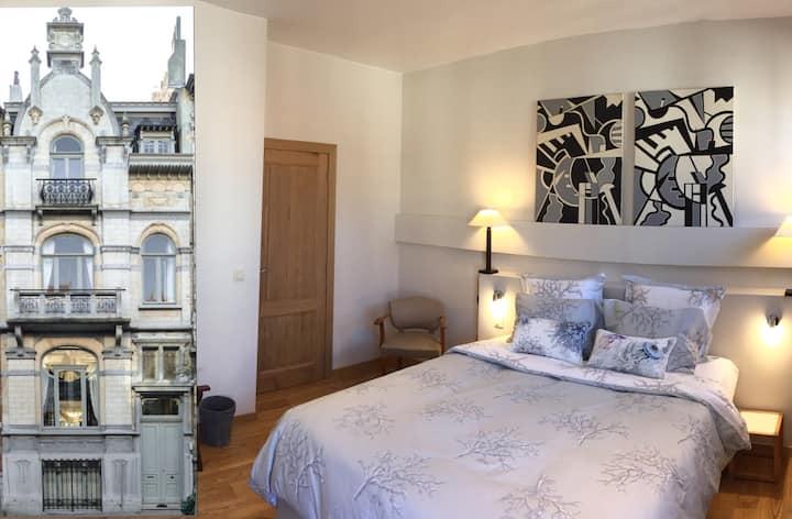 B&B Le Duc - CH2: cosy room + Petit Dej.