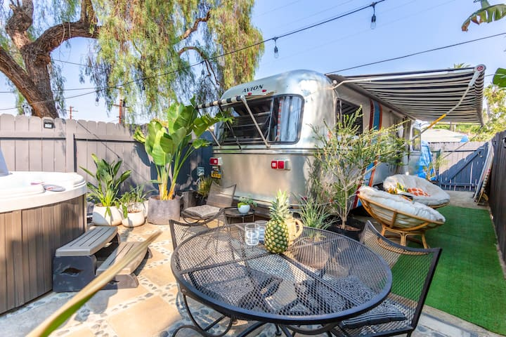 San Diego Glamping | Parkhurst Vintage Trailer Inn