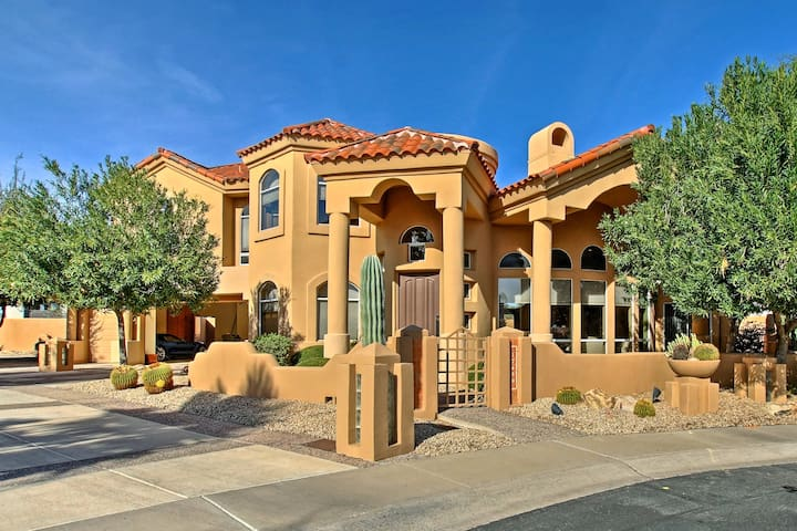 Magnificent 4BR Home Steps to TPC Scottsdale!