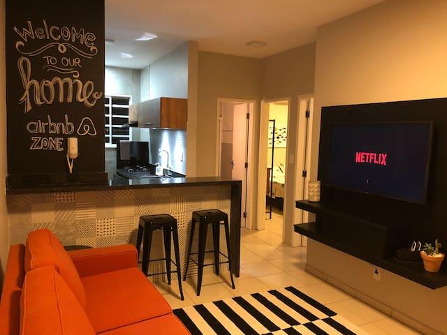 Apartamento Moderno e Confortável!