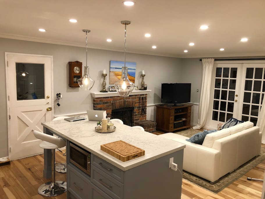 Renovated Kitchen with Adjacent Family Room