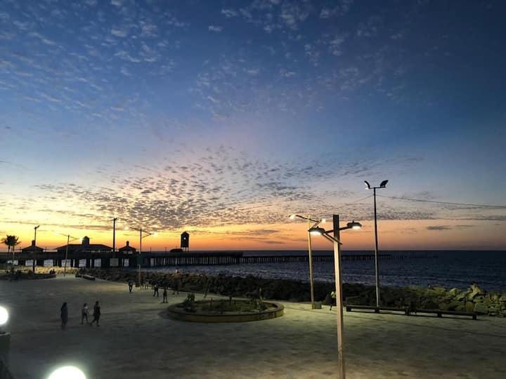 PROMOÇÃO! Flat,frete ao mar,mobiliado,Fortaleza/CE