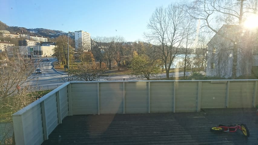 Nice apartment with terrace - Bergen - Apartamento