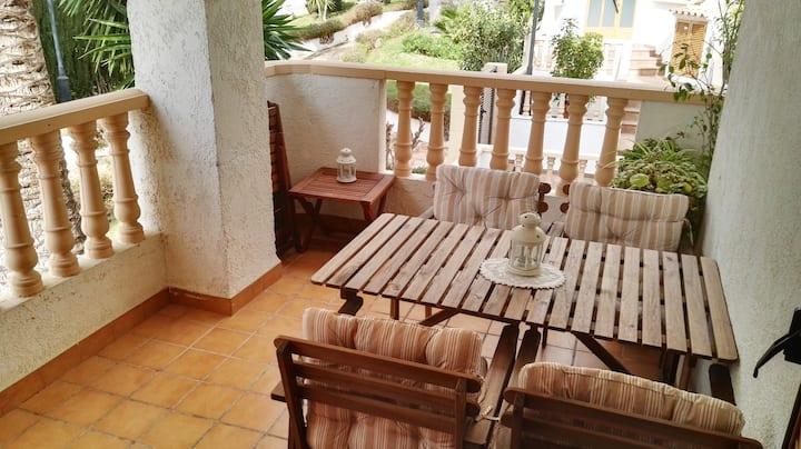 Cozy apartment in Javea Port