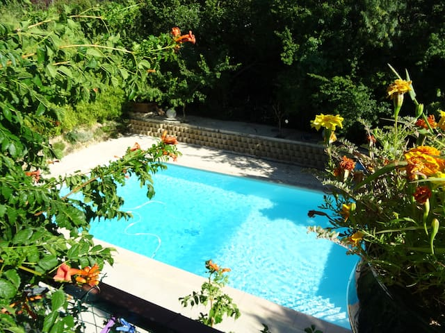 19th Provençal Bastide Air-conditioned with pool