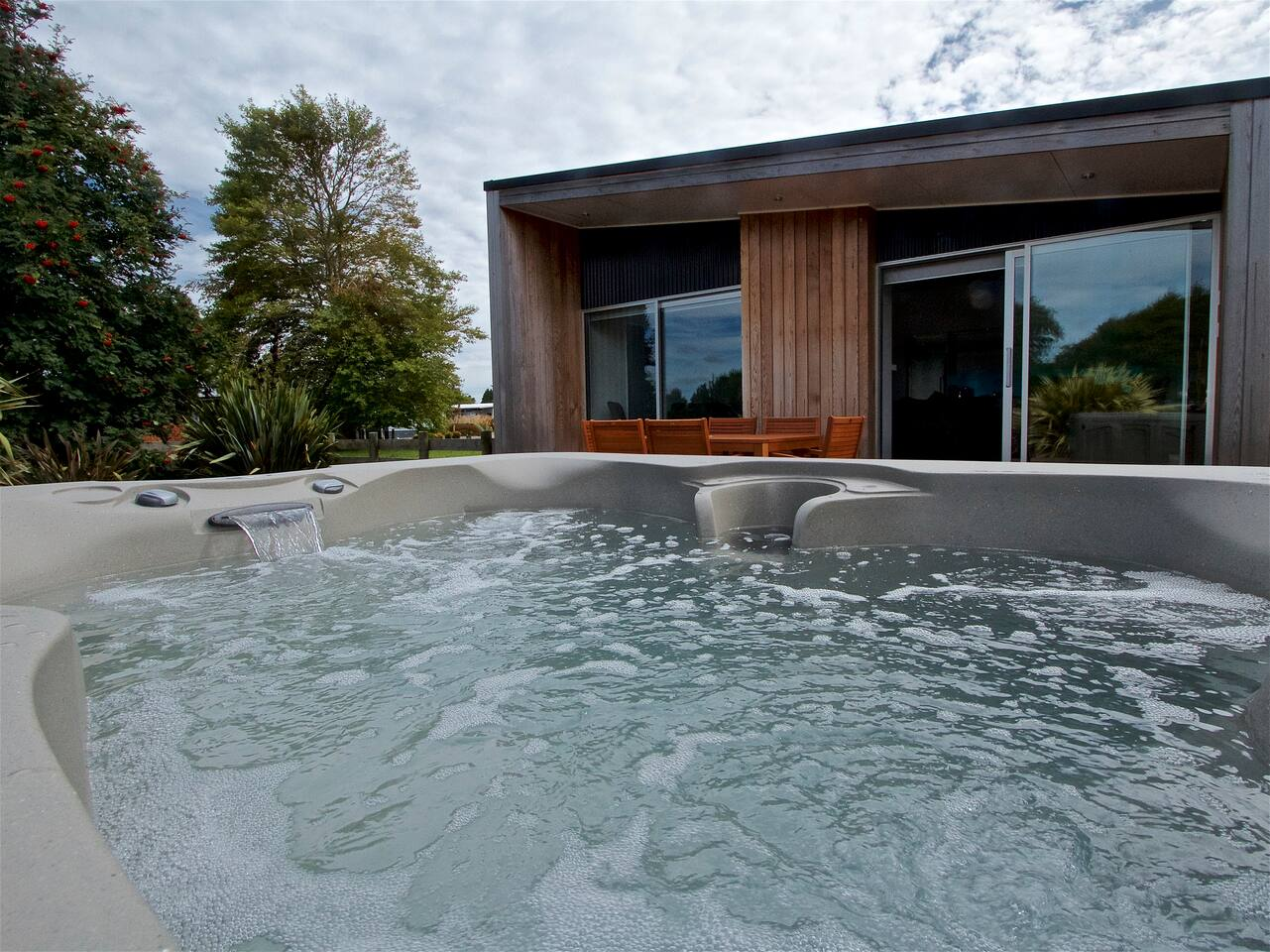 Carex Gem - Ohakune Holiday Home - Spa