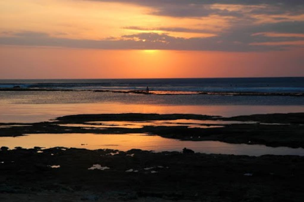 Sunset in Balangan