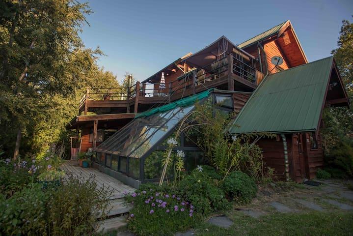Pucón Gorgeous, Comfortable, Organic Paradise - Pucón - Huis