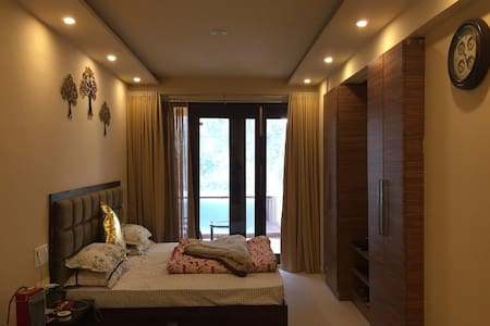 Feel at home @ 1 BHK Allure Lakefront apartment