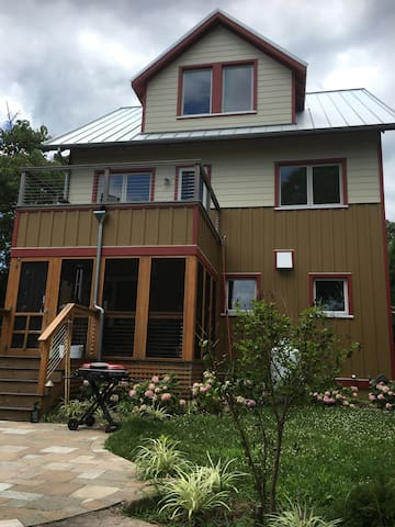 Eco-home steps from the beach! - Annapolis - Rumah