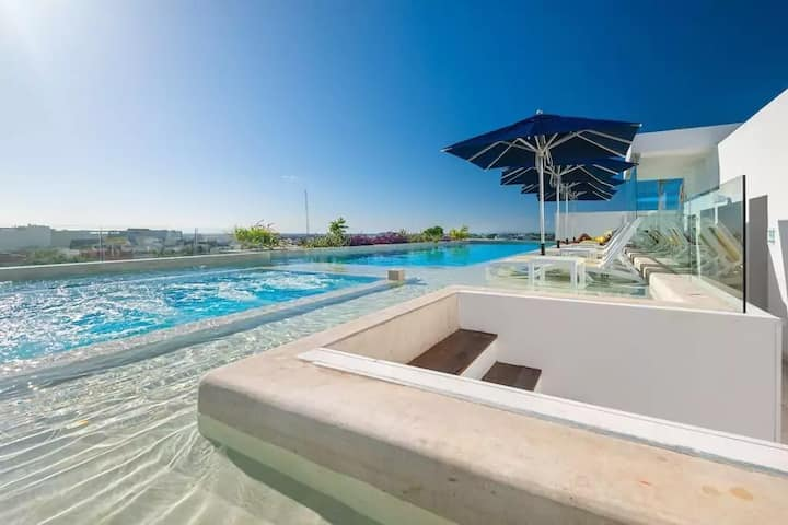 Anah 1BD Apartment @The Heart of Playa / 50MB WiFi