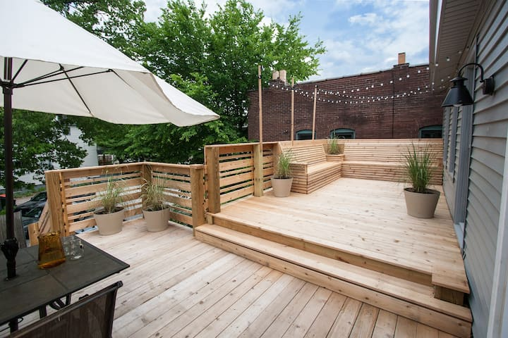 Bed and Bikes with Private Deck - Louisville - Apartamento