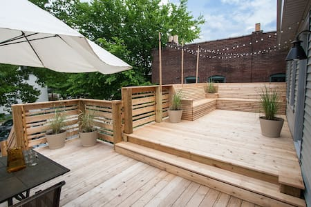 Bed and Bikes with Private Deck - Louisville - Daire