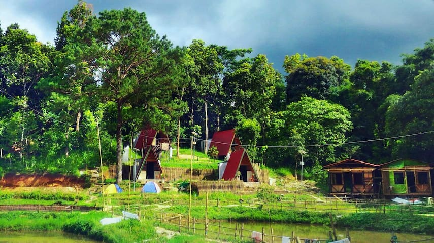 Na La Ri eco-resort in Sumer - near Shillong