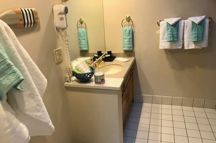 Just a clean bathroom