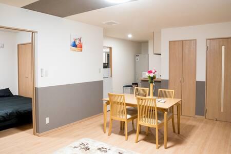 どうみん割・びえい割適用可 観光に便利なモダンアパートメント stay in biei 201