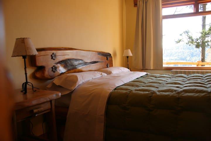 Cabaña en Bariloche. Dormitorio
